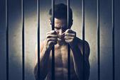 囚犯 — 图库照片