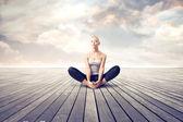 Meditación — Foto de Stock