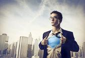Super herói — Foto Stock
