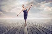 Baletnica — Zdjęcie stockowe