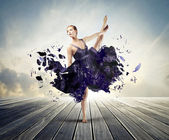 Artistic dancer — Stock Photo