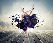 Bailarín artístico — Foto de Stock