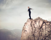 опасный прыжок — Стоковое фото