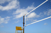 Sport Image Of Volleyball Net — Stock Photo