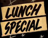 Lunch Special Cafe — Stock Photo