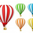 Vector de stock : Air balloon