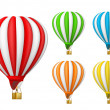 Stock Vector: Air balloon