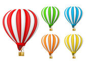Luchtballon — Stockvector