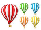 Volo in mongolfiera — Vettoriale Stock