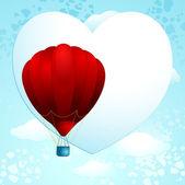 Love balloon — Stock Vector