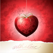 Valentine card — Vector de stock #8149886