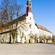 Monastery&amp;#039;s church of Virgin Mary assumption and benedictine mon - Stock Photo