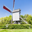 Windmill of Terdeghem, Nord-Pas-de-Calais, France - Foto Stock