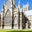 Cathedral of Lincoln, East Midlands, England - Stock Photo