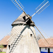 Windmill, Kuzelov, Czech Republic - Foto Stock