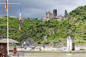 Cutts Castle, St. Goar, Rhineland-Palatinate, Germany — Stock Photo