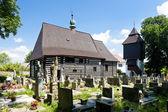 Wooden church in Slavonov, Czech Republic — Stock Photo