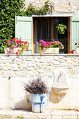 Detail of house, Provence, France — Stock Photo