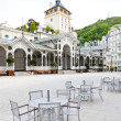 Market Colonnade, Karlovy Vary (Carlsbad), Czech Republic — Stock Photo #10480864
