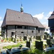 Wooden church in Slavonov, Czech Republic - Zdjęcie stockowe