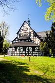 Houten kerk van swidnica, silezië, polen — Stockfoto