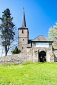 Romanesque church in Swierzawa, Silesia, Poland — Stock Photo