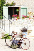 Bicycle, Provence, France — Stockfoto