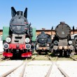 Stock Photo: Steam locomotives
