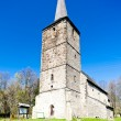 Romanesque church in Swierzawa, Silesia, Poland - Stock Photo