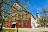 Chiesa di legno di jawor, slesia, polonia — Foto Stock
