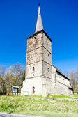 Chiesa romanica in świerzawa, slesia, polonia — Foto Stock