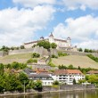 Marienberg Fortress, Wurzburg, Bavaria, Germany — Stock Photo