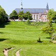 Mont des Cats Abbey, Nord-Pas-de-Calais, France - Stock Photo