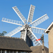 Windmill in Heckington, East Midlands, England - Stock Photo