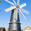 Windmill in Heckington, East Midlands, England — Stock Photo