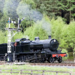 Steam train, North Yorkshire Moors Railway (NYMR), Yorkshire, En - Stock Photo
