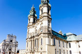 Pilgrimage church in Krzeszow, Silesia, Poland — Stock Photo