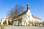 Monastery's church of Virgin Mary assumption and benedictine mon — Stock Photo