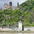 Stock Photo: Cutts Castle, St. Goar, Rhineland-Palatinate, Germany