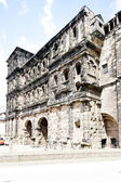 Porta Nigra, Trier, Rhineland-Palatinate, Germany — Stock Photo