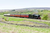 Steam train, North Yorkshire Moors Railway, England — Stock Photo