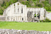 Ruins of Rievaulx Abbey, North Yorkshire, England — Stock Photo