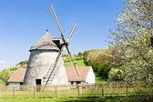 Windmill, Kuzelov, Czech Republic — Stock Photo