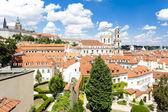 Prague Castle and Little Quarter, Prague, Czech Republic — Stock Photo