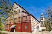 Kościół konstrukcji szkieletowej jawor, śląsk, polska — Zdjęcie stockowe