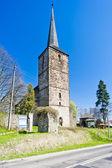 Romanesque church in Swierzawa, Silesia, Poland — Stock Photo