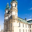 Stock Photo: Pilgrimage church in Krzeszow, Silesia, Poland