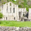 Ruins of Rievaulx Abbey, North Yorkshire, England - Foto Stock