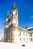 Pilgrimage church in Krzeszow, Silesia, Poland — Stock Photo