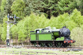 Steam train, England — Stock Photo